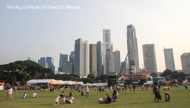 Formula 1 Singapore Grand Prix 2012 - The Padang area (1)
