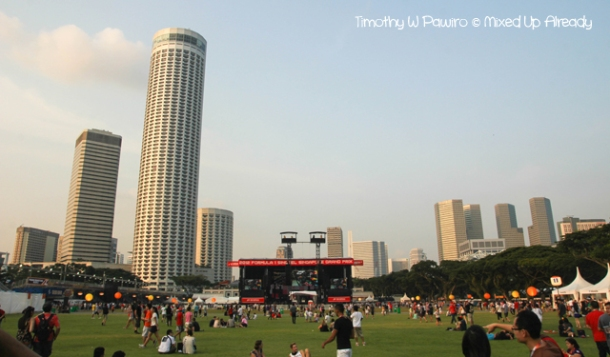 Formula 1 Singapore Grand Prix 2012 - The Padang area (2)