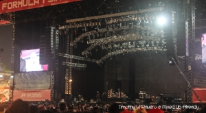 Formula 1 Singapore Grand Prix 2012 - The padang stage