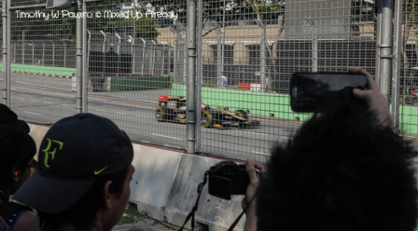 Formula 1 Singapore Grand Prix 2012 - The practice session