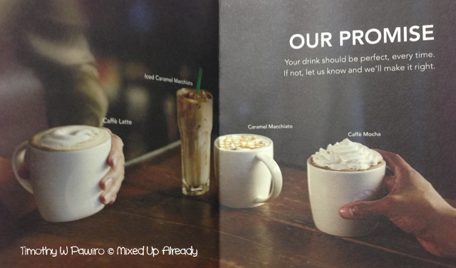 Starbucks Indonesia Planner 2013 - Our Promise