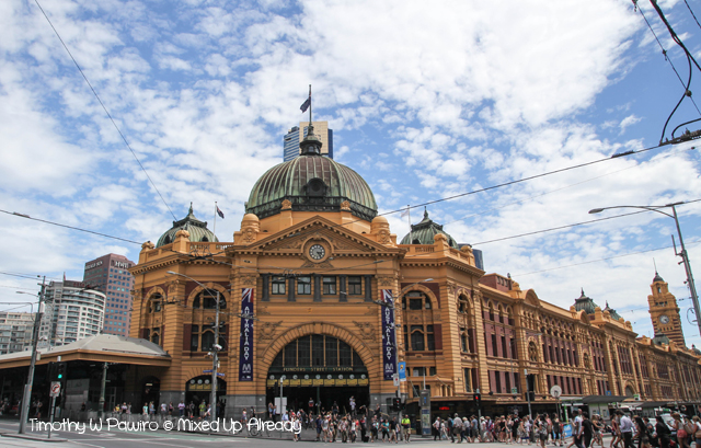 Australia trip - Melbourne - Flinders Street Station