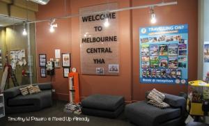 Australia trip - Melbourne - Melbourne Central YHA