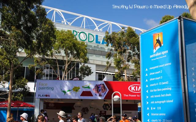 Australia trip - Melbourne - Melbourne Park (Rod Laver) - Australian Open