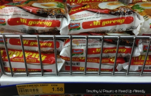 Australia trip - Sydney - Indomie goreng at the convenience store