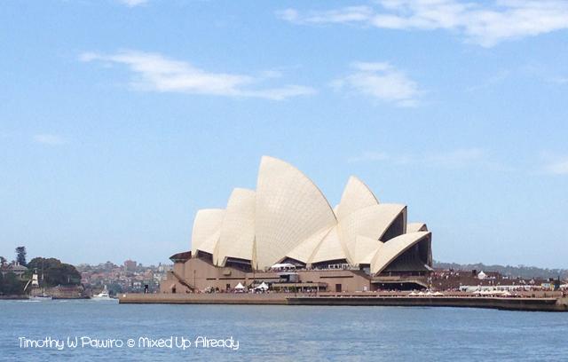 Australia trip - Sydney - Sydney Harbor - Sydney opera house