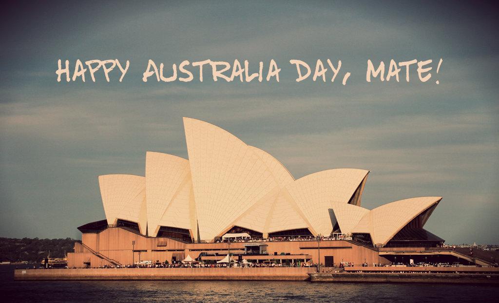 Australia trip - Sydney - Sydney Opera House - Happy Australia Day