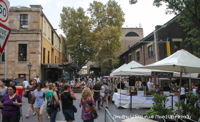Australia trip - Sydney - The Rocks - Market (1)