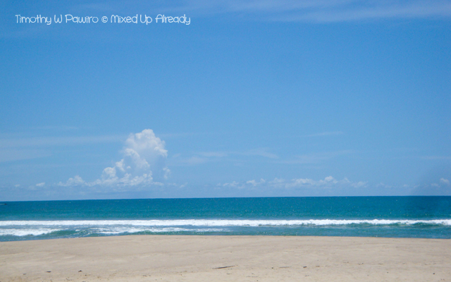 Sawarna (Indonesia) trip - Ciantir beach (Pantai) - The beach