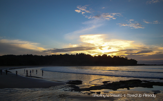 Sawarna (Indonesia) trip - Lagoon Pari - Sunrise