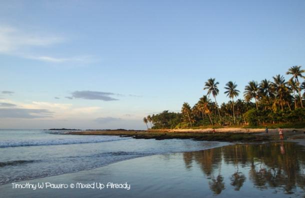 Sawarna (Indonesia) trip - Lagoon Pari - The beach