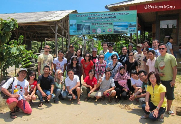 Sawarna (Indonesia) trip - Photo group