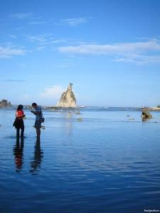Sawarna (Indonesia) trip - Tanjung Layar - Me & Lidya