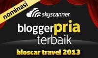 Skyscanner - Bloscar Travel 2013 - Blogger Pria Terbaik (Male Nominee)