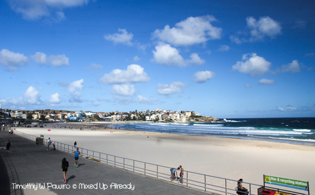 Australia trip - Sydney - Bondi - The beach (2)