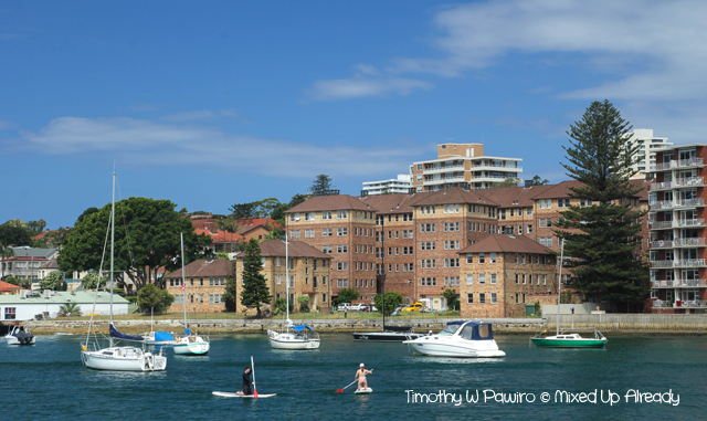 Australia trip - Sydney - Manly Cove