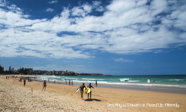 Australia trip - Sydney - Manly - The Beach (1)