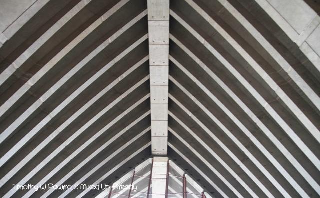 Australia trip - Sydney - Sydney Opera House - The ceiling
