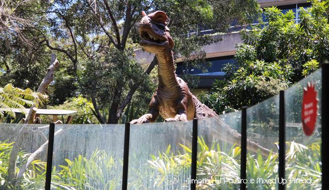 Australia trip - Sydney - Taronga Zoo - Dinosaur - Dilophosaurus