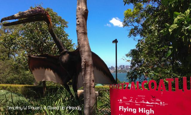 Australia trip - Sydney - Taronga Zoo - Dinosaur - Quetzalcoatlus