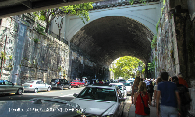 Australia trip - Sydney - Walking Tour - Argyle Street - Tunnel