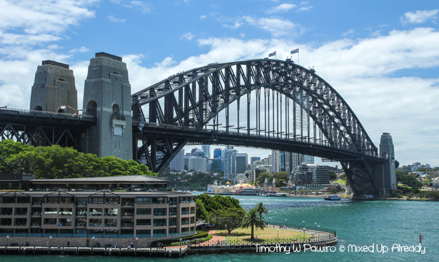 Australia trip - Sydney - Walking Tour - Sydney Harbour Bridge (1)