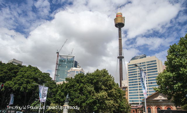 Australia trip - Sydney - Walking Tour - Sydney Tower Eye (Golden Bucket)
