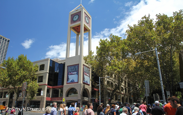 Australia trip - Sydney - Walking Tour - The Rocks - Clocktower Square