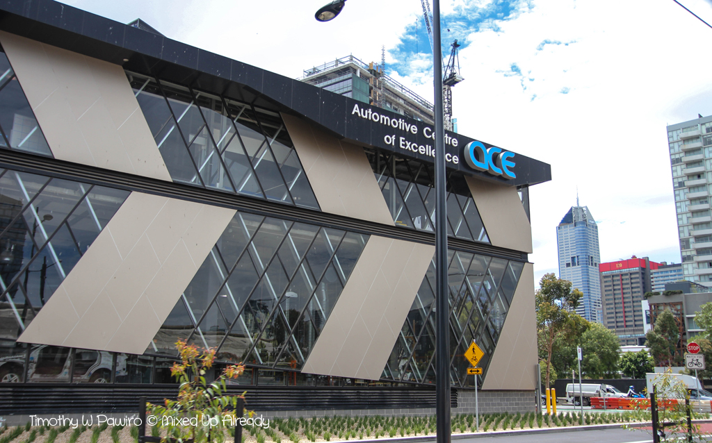 Australia - Melbourne trip - City Circle Tram - Docklands - Automotive Centre of Excellence