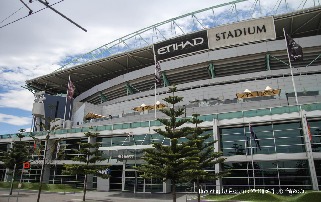Australia - Melbourne trip - City Circle Tram - Docklands - Bourke Street - Etihad Stadium