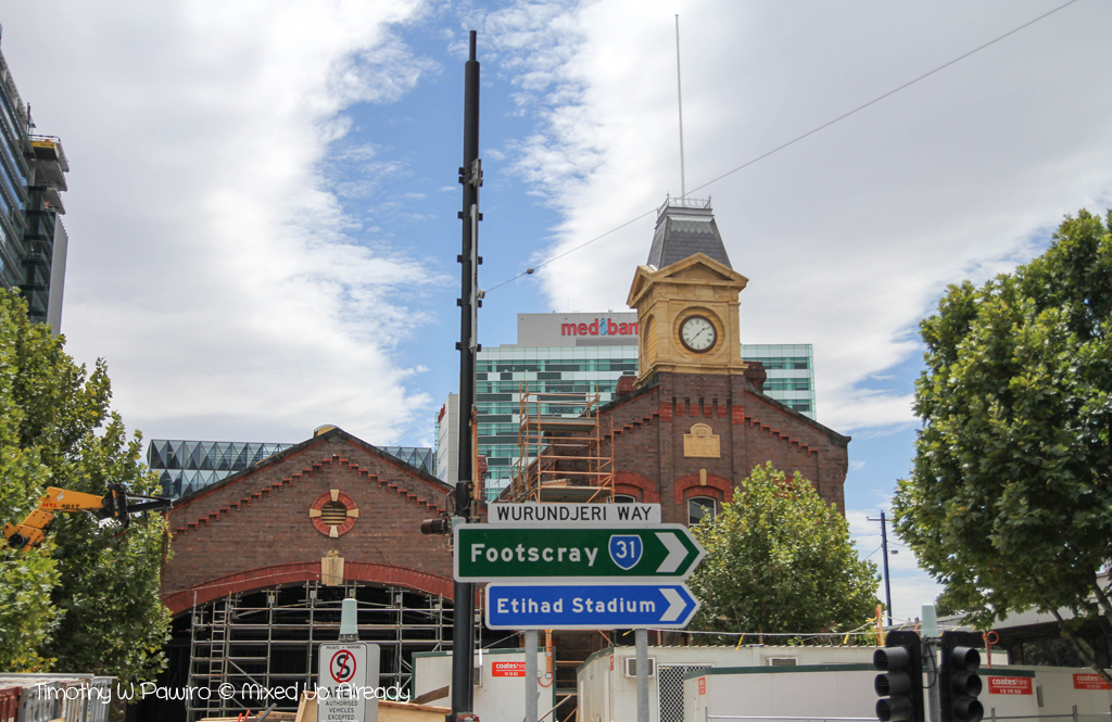 Australia - Melbourne trip - City Circle Tram - Wurundjeri Way - The Goods Shed