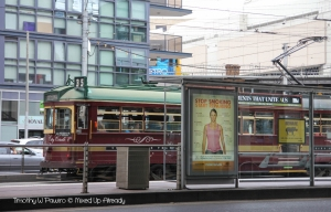 Australia - Melbourne trip - Flinders Street - City Circle Tram