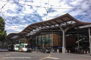 Australia - Melbourne trip - Southern Cross station