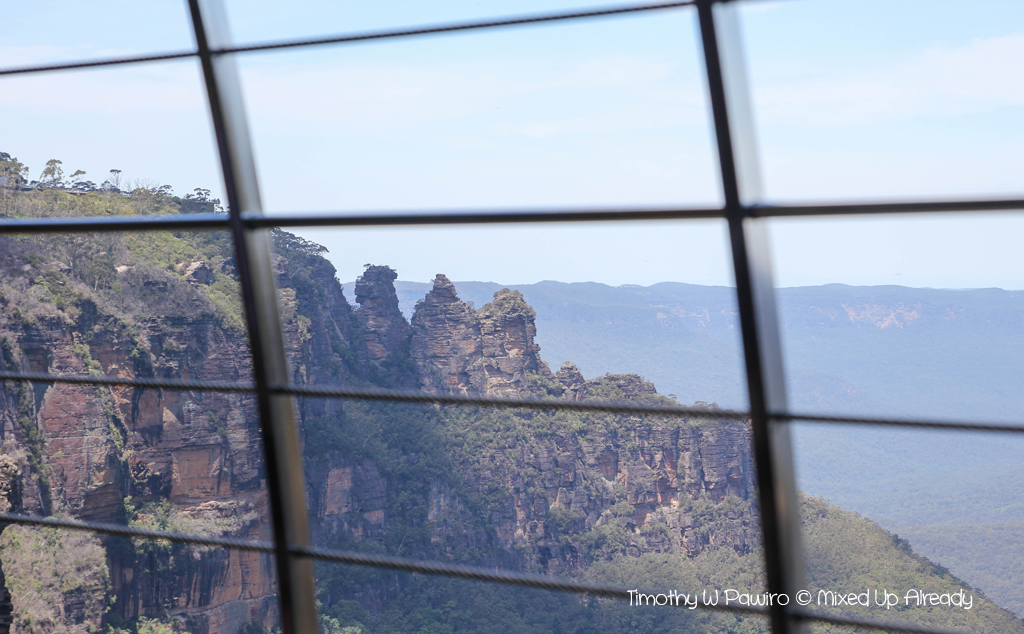 Australia trip - New South Wales - Blue Mountains National Park - Katoomba Scenic World - Cable car - The three sisters