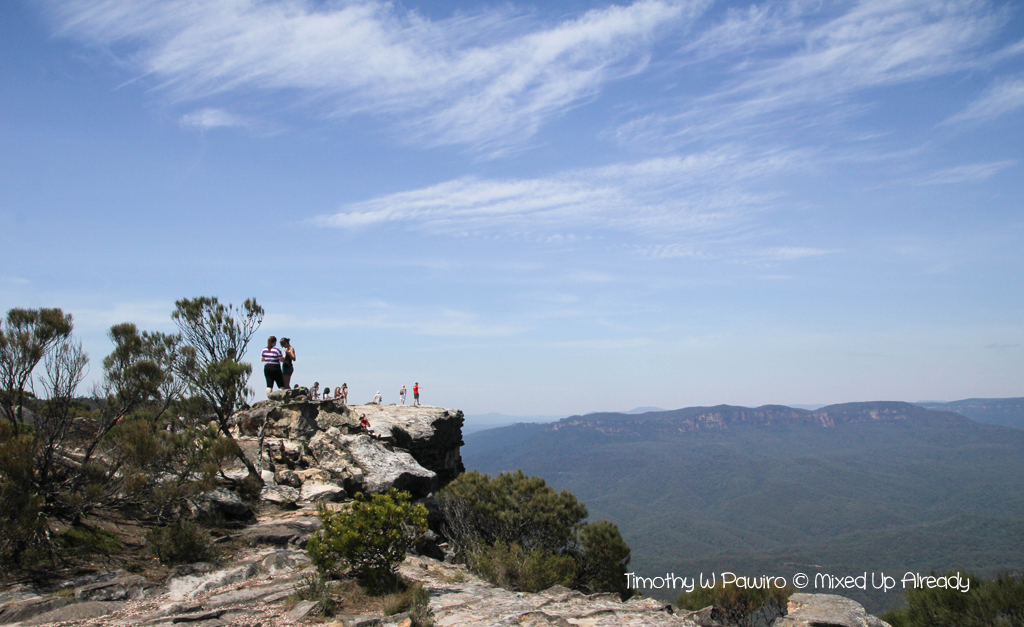Australia trip - New South Wales - Blue Mountains National Park - The Flat Rock (1)