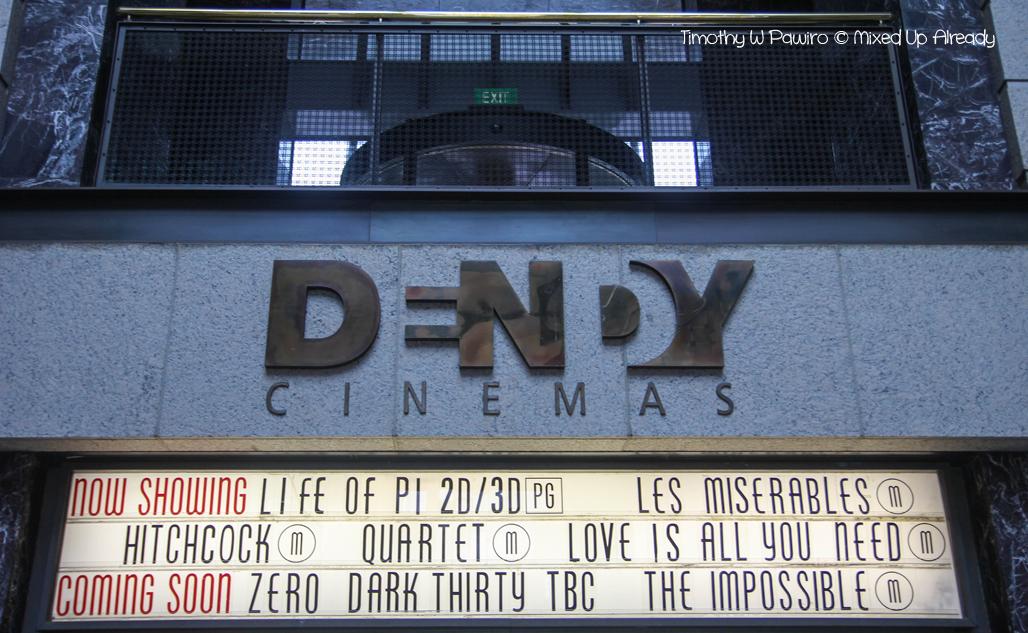 Australia trip - Sydney - Dendy Cinemas