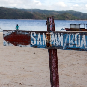 To the west of Lombok (1): Gili Nanggu