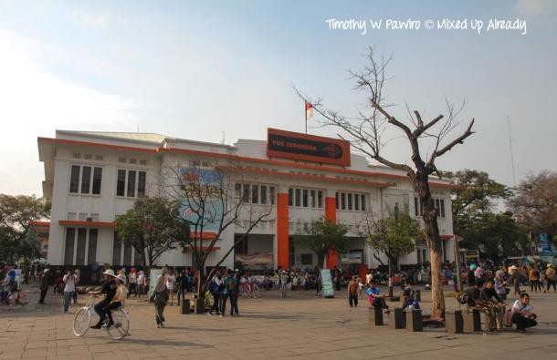 Indonesia - Jakarta - Kota Tua - Taman Fatahillah - Indonesian Post Office