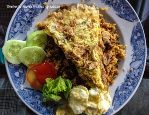 Indonesia - Sumatera - Bukittinggi - Baroena Waroeng Kupi & Mie Aceh - Nasi goreng