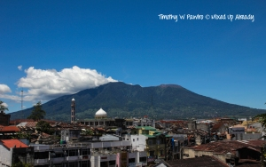 Indonesia - Sumatera - Bukittinggi - Mount Singgalang