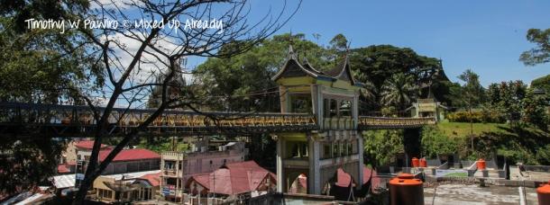 Indonesia - Sumatera - Bukittinggi - Taman Bundo Kanduang - Jembatan Limpapeh